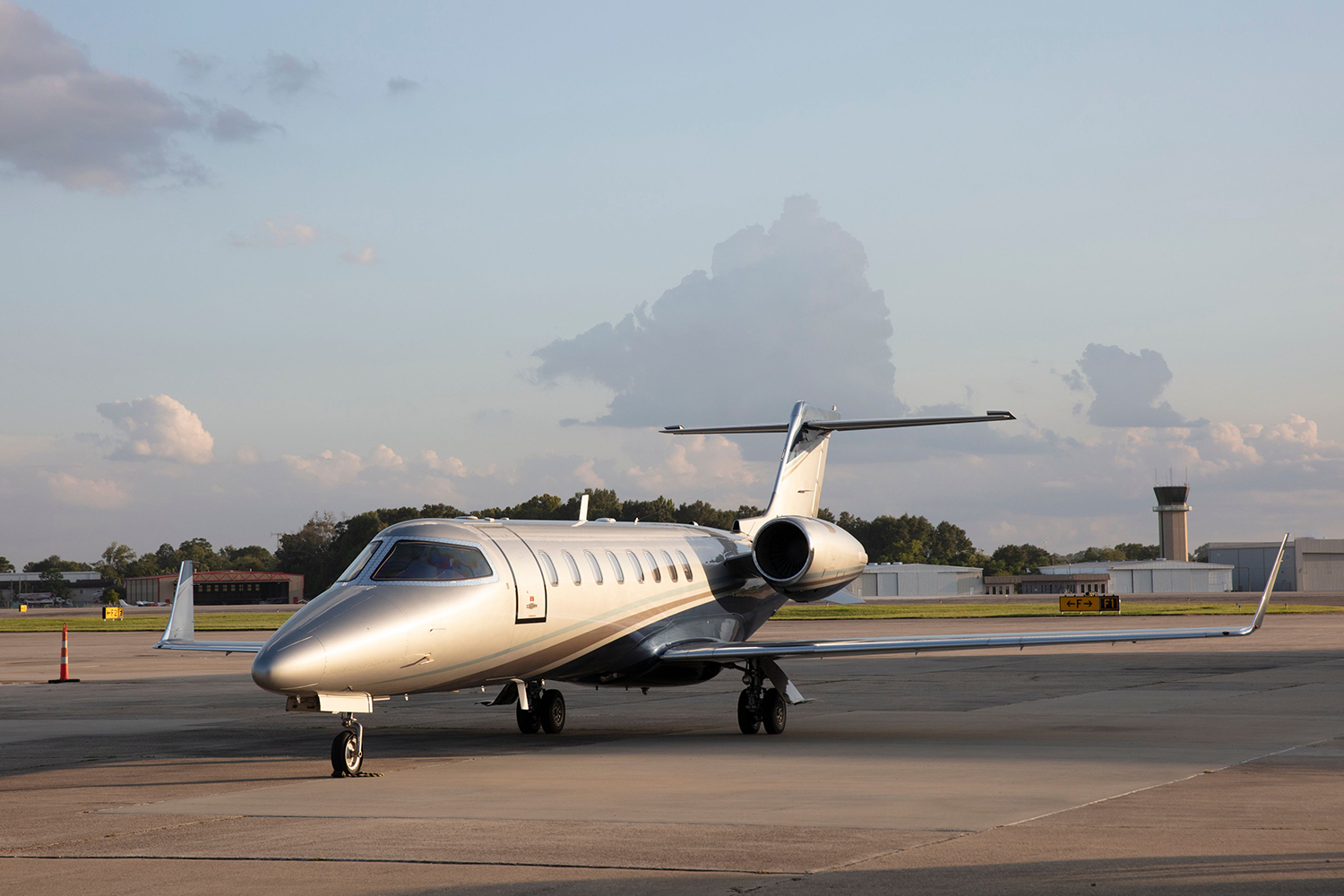 Baton Rouge Air Charter's Lear 45 Jet