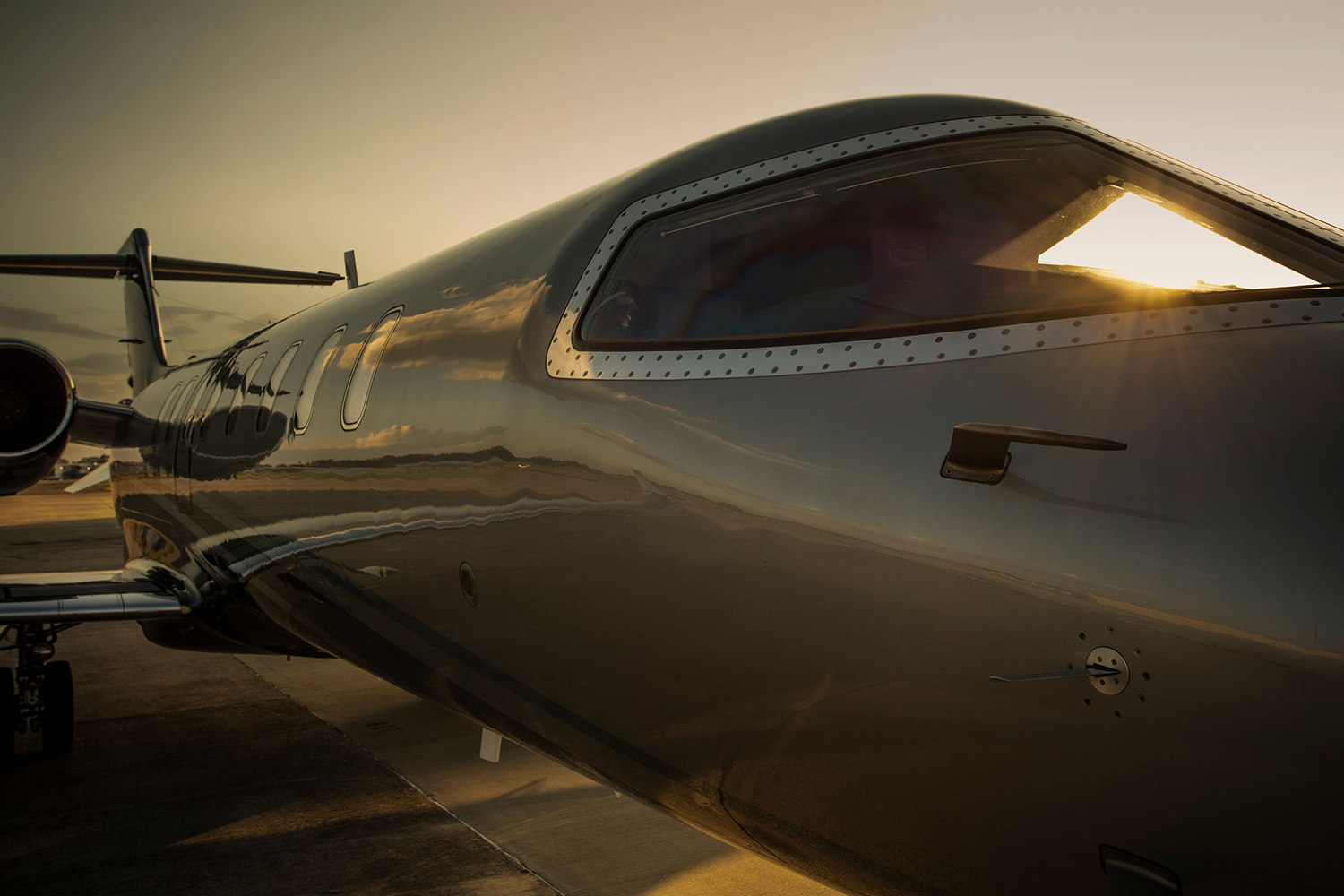 High speed performance from BTR Air Charter's Lear 45