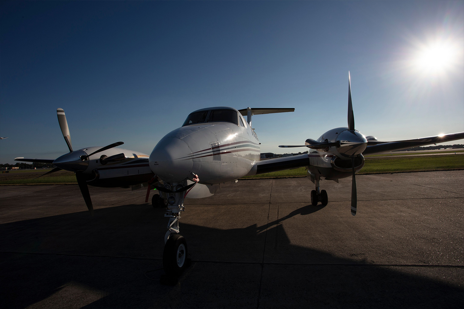 BTR Air Charter - King Air BE200 - Exterior Turbo Prop Charter Flights from BTR